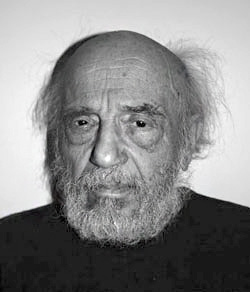 Boris Lurie on 01/18/2006, photo by A. Dayen